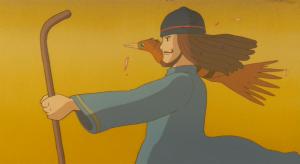 映画『風の谷のナウシカ』に出てくる「青き衣をまといて、金色の野に降り立つ」と言う伝説の人