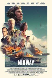 『ミッドウェイ』(米国2019年公開)の映画ポスター